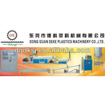 Machine de granules en plastique de rebut PS DEKE d'ABS de PE de PC de pp DKSJ-160 / 140A