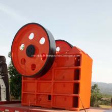 Concasseur à mâchoires en pierre pour les installations de production de sable