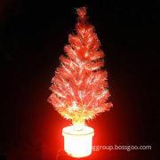 Fiber Optic Light Christmas Tree, create a good atmosphere, Christmas lighting Christmas decoration