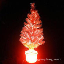 Fiber Optic Light Christmas Tree, create a good atmosphere, Christmas lighting Christmas decoration