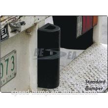 Parachoques de goma duradero de protección de pared tipo D