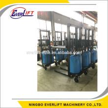 1000kg 1500kg 2000kg 1 ton 2ton 1.5 ton 1.6m 2m 3 m 3.5m cheap semi electric stacker