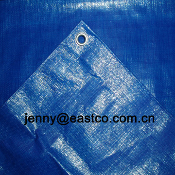 UV-behandelte Poly Tarps blaue Plane