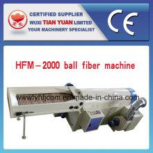 Máquina de fazer bola de fibra perolado