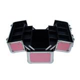 Aluminum Makeup Train Box Cosmetic Box Aluminum Cosmetic Box Makeup Box