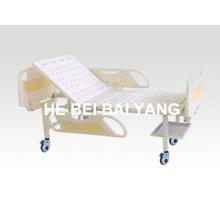 A-80 cama de hospital móvel de duas funções manual