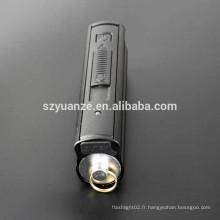 Mini torche Plus léger, allume-flamme portable, style chalumeau, lampe de poche et briquet