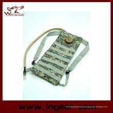 Tático Molle 3L mochila saco de água de hidratação para militares