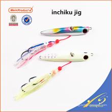 IJL001 aparejos de pesca de alta calidad cebo artificial pesca señuelo inchiku jig