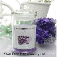Velas románticas perfumadas del regalo de boda con la cinta