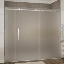 Panneau de verre trempé givré pour salle de douche 8 mm 10 mm