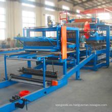Línea de producción de panel sándwich compuesto de aislamiento de material de construcción