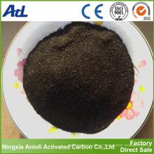 fabricación de carbón activado de grado alimentario