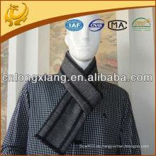 Bufanda de seda de Jacquard de la raya de la moda de los hombres