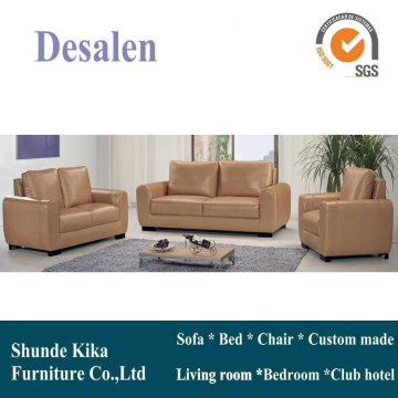 Canada Leather Sofa, Sectional Sofa, Living Room Furniture (A07)