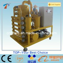Two-Stage High Efficient Vacuum Oil Filter Machine (ZYD)