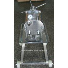 Leo Filter Press Filtro de placa de acero inoxidable para probar modelos