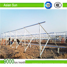 PV кронштейны для монтажа солнечной системы