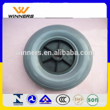 8 inch pu wheelchair wheel