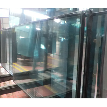 Double Triple Silver Low E Glass Exterior Wall