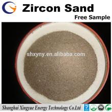 Matéria refratária Zircon Areia para fundição