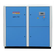 Compresor de tornillo refrigerado por aire estacionario de agosto de 75kw / 100HP