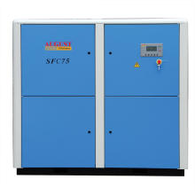 75kw/100HP August Stationary Air Cooled Screw Compressor