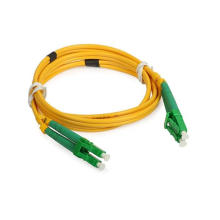 LC / APC Cable de remiendo de fibra óptica simple en modo simple