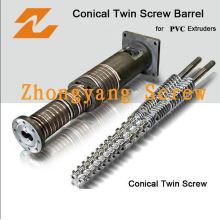Conical Twin Screw Barrel for Extruder