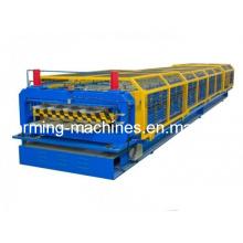 Машина для производства двухслойных кровельных панелей Профилегибочная машина для производства двухслойных панелей