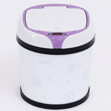 Tres colores disponibles Plastic Sensor Dustbin (YW008)