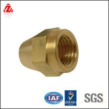 factory custom high quality brass nut and nipple