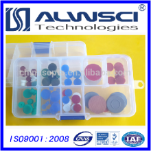 azul 11mm Silicona Alta Temperatura / 0-300 GC Septa