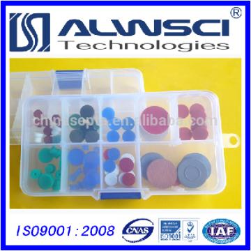 blau 11mm Silikon Hochtemperatur / 0-300 GC Septa