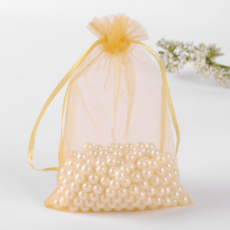 fabric organza bag
