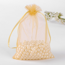 Good quality customized design fabric organza bag