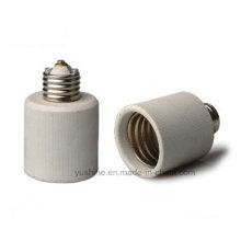 Adaptador de lâmpada E27 a E40 com suporte de porcelana