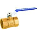 Brass ball valve pn16, J2033 brass ball valve, brass color