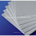 Techo de fibra mineral absorbente de sonido blanco de alta calidad