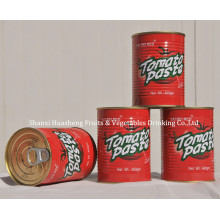 400g 14% -16% Pasta de tomate em conserva