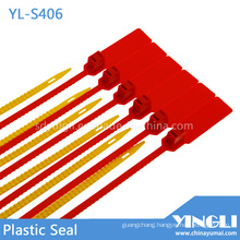 Airline Transportation Safety Plastic Seal with Barcode Printed