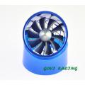 Lufteinlass Turbine Turbocharge mit Dual Spaer Teile Supercharge 7,5 * 6,5cm