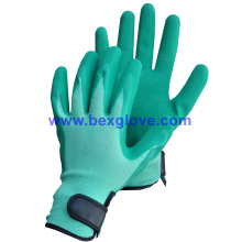 Latex Work Garden Glove