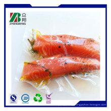 Heat Seal Plastic Packaging Food Vacuum Bag