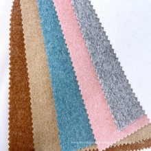 Warm super soft various color polyester rayon coat fabrics textiles double brushed poly winter fabric clothing custom