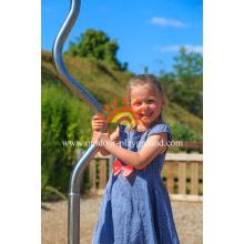 Забавная детская металлическая карусель для детской площадки HPL