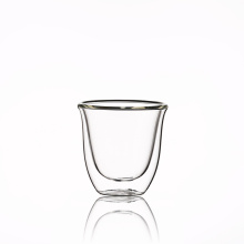 Best Large Coffee Espresso Latte Tea Glasses  Clear Glass Double Wall Cup