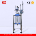 New Bio stirred tank reactor Vacuum glass reactor