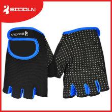 Schaum gepolsterte Silikon Anti-Rutsch-Fitness-Bodybuild Fitness-Handschuh mit hoher Qualität