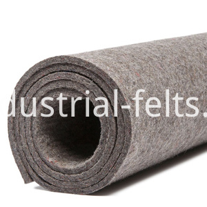 Grey color Fire proof felt